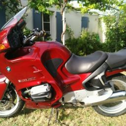 Bmw r1100 rt (rouge siena) année 2000 - 44500 km
